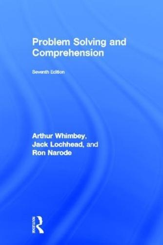 Problem Solving & Comprehension (Hardback)