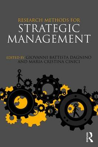 Research Methods for Strategic Management (Paperback)