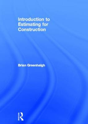 Introduction to Estimating for Construction (Hardback)