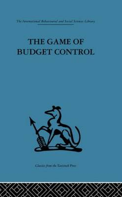 The Game of Budget Control (Paperback)