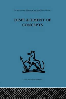 Displacement of Concepts (Paperback)