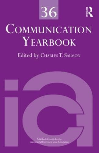 Communication Yearbook 36 (Hardback)