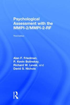Psychological Assessment with the MMPI-2 / MMPI-2-RF (Hardback)