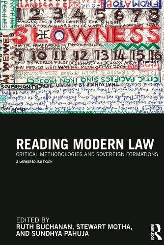 Reading Modern Law: Critical Methodologies and Sovereign Formations (Paperback)