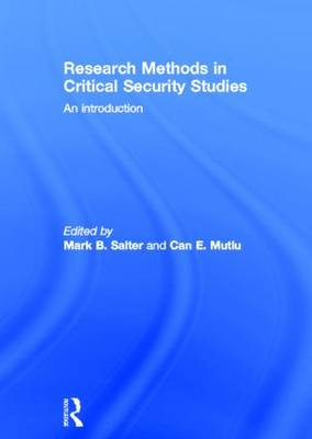 Research Methods in Critical Security Studies: An Introduction (Hardback)