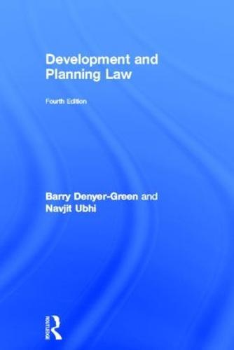Development and Planning Law (Hardback)