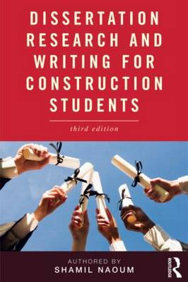 Dissertation Research and Writing for Construction Students (Paperback)