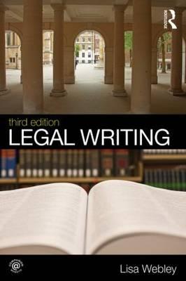 Legal Writing (Paperback)