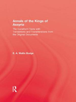 Annals Of The Kings Of Assyria (Paperback)