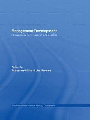 Management Development: Perspectives from Research and Practice - Routledge Studies in Human Resource Development (Paperback)