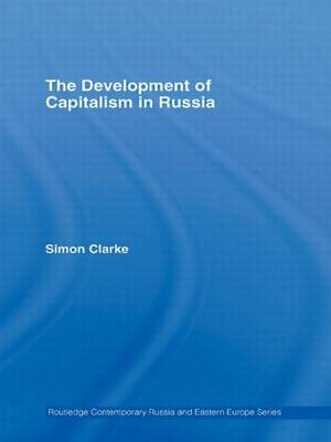 The Development of Capitalism in Russia (Paperback)