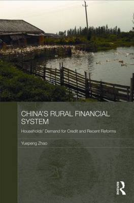 China's Rural Financial System: Households' Demand for Credit and Recent Reforms - Routledge Studies on the Chinese Economy (Hardback)
