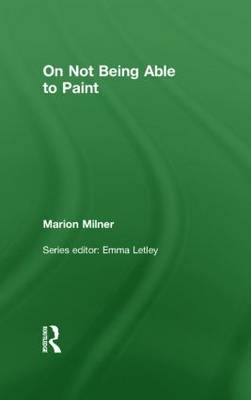 On Not Being Able to Paint (Hardback)