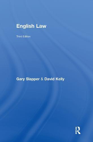 English Law (Hardback)