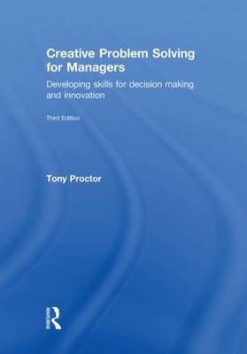 Creative Problem Solving for Managers (Hardback)
