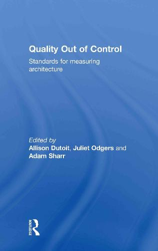 Quality Out of Control (Hardback)