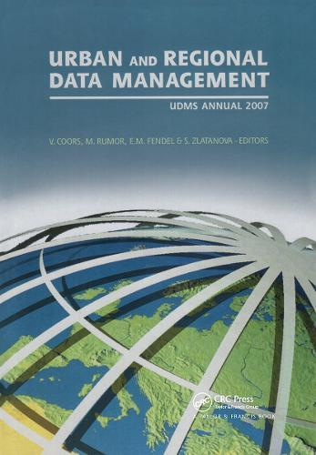 Urban and Regional Data Management: UDMS 2009 Annual (Hardback)