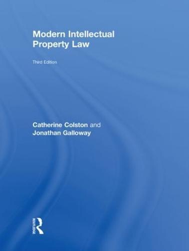 Modern Intellectual Property Law (Hardback)