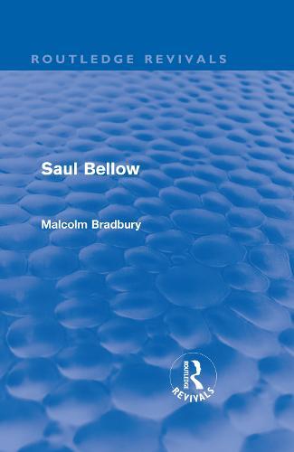 Saul Bellow (Hardback)