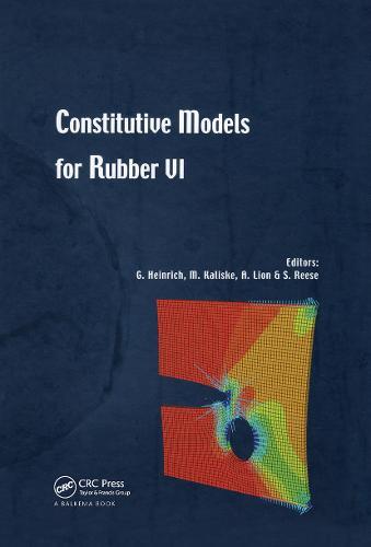 Constitutive Models for Rubber VI (Hardback)