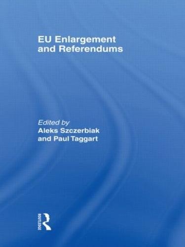 EU Enlargement and Referendums (Paperback)