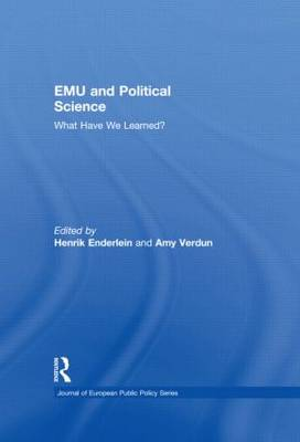 EMU and Political Science: What Have We Learned? - Journal of European Public Policy Series (Hardback)