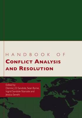 Handbook of Conflict Analysis and Resolution (Paperback)