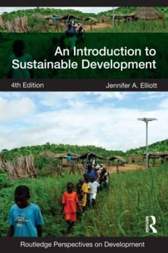 An Introduction to Sustainable Development - Routledge Perspectives on Development (Paperback)