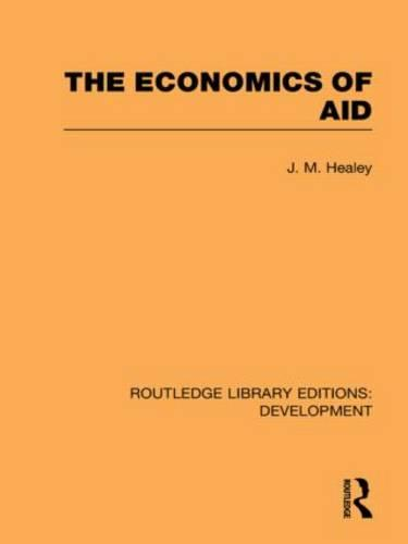 The Economics of Aid - Routledge Library Editions: Development (Hardback)