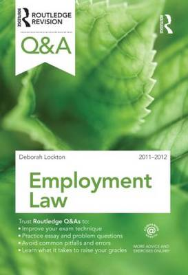 Q&A Employment Law 2011-2012 - Questions and Answers (Paperback)