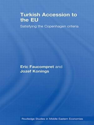 Turkish Accession to the EU: Satisfying the Copenhagen Criteria - Routledge Studies in Middle Eastern Economies (Paperback)