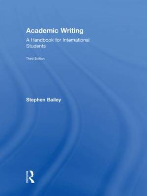 Academic Writing: A Handbook for International Students (Hardback)