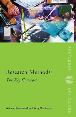 Research Methods: The Key Concepts - Routledge Key Guides (Paperback)
