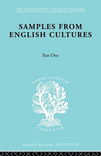 Samples from English Cultures: Part 1 (Paperback)