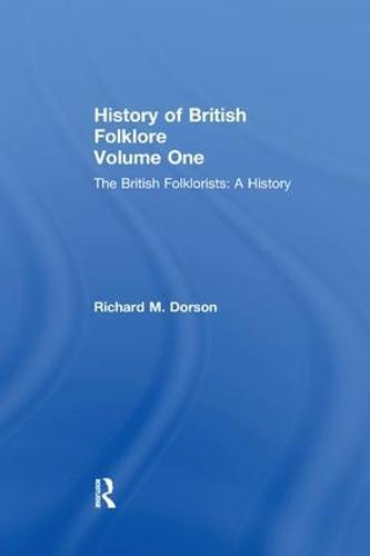 History British Folklore: Volume 1 (Paperback)