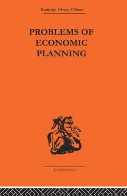 Politics of Economic Planning: Papers on Planning and Economics (Paperback)