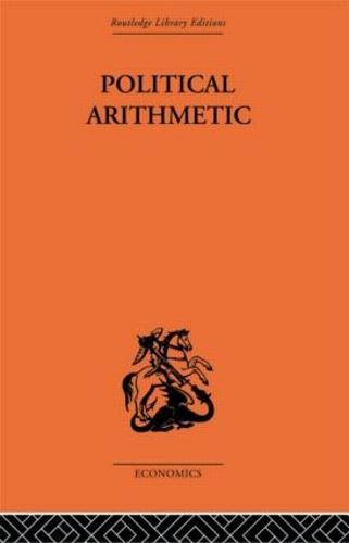 Political Arithmetic: A Symposium of Population Studies (Paperback)