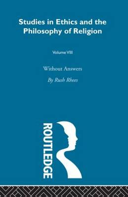Without Answers Vol 8 (Paperback)
