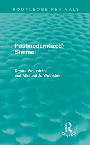Postmodernized Simmel (Hardback)