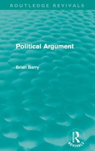 Political Argument - Routledge Revivals (Paperback)