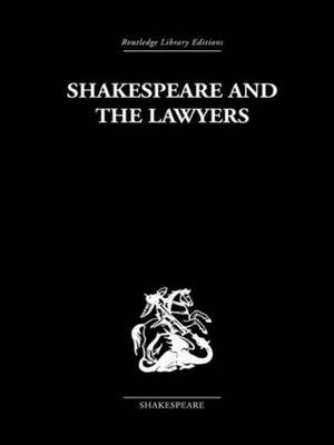 Shakespeare and the Lawyers (Paperback)