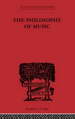 The Philosophy of Music (Paperback)