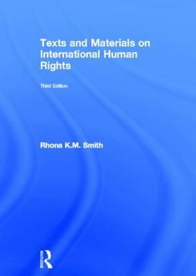 Texts and Materials on International Human Rights (Hardback)