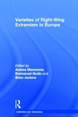 Varieties of Right-Wing Extremism in Europe - Extremism and Democracy (Hardback)