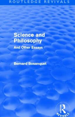 Science and Philosophy: And Other Essays (Paperback)
