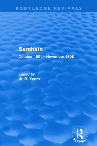Samhain: October 1901 - November 1908 (Paperback)
