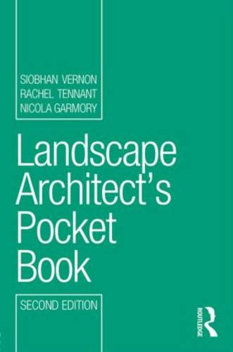 Landscape Architect's Pocket Book - Routledge Pocket Books (Paperback)