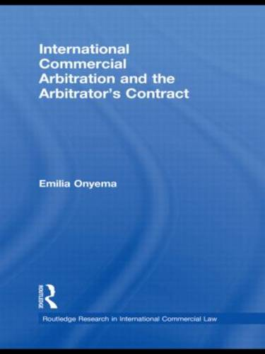 International Commercial Arbitration and the Arbitrator's Contract (Paperback)