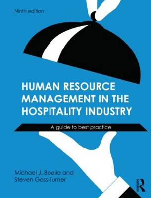 Human Resource Management in the Hospitality Industry: A Guide to Best Practice (Paperback)