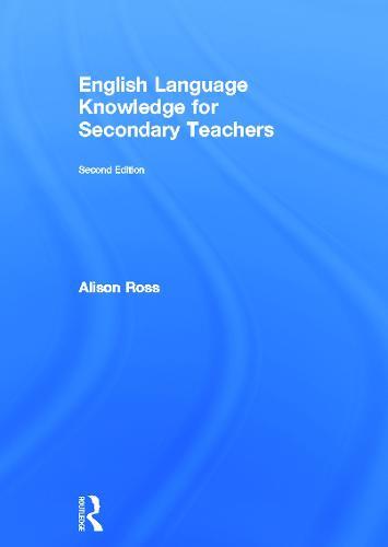 English Language Knowledge for Secondary Teachers (Hardback)